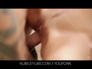Nubile Films – Stiff cock gives Silvie Deluxe a full body orgasm