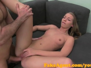 FakeAgent Young Russian model type has anal sex with me