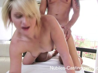 Nubiles Casting – Creampie cutie wants to be a pornstar