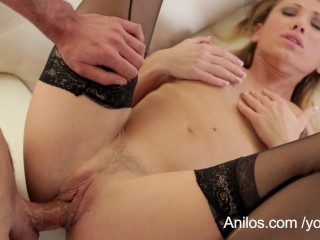 Hot milf cunt fucked raw and sprayed with jizz