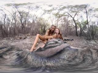 VRBANGERS-Courtney Taylor&Anya Olsen Magical Threesome