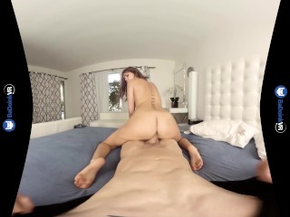 VR Porn Step Sister Riley Reid's POV Cowgirl Fuckfest on BaDoinkVR.com