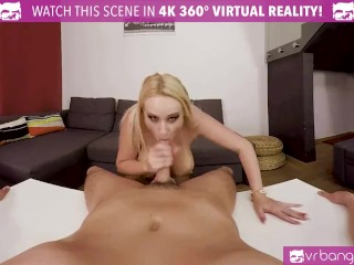 VR PORN – My hot wife Angel Wicky cums early