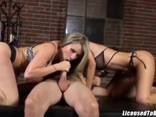 Lexi Bardot Shares Her Mans Cock With Besty Courtney Cummz