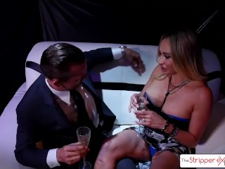 The Stripper Experience - Claudia Valentine Gets Fucked By A Big Dick