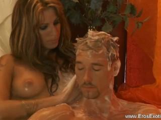 Turkish Massage From Blonde Babe
