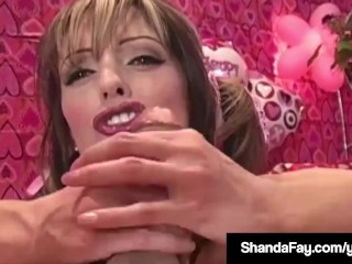 Horny Housewife Shanda Fay Gets Hot Valentine Anal Creampie