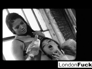 London Keyes og Charmaine Starr