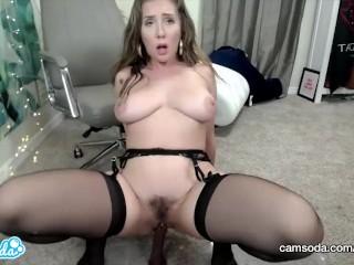 Camsoda - Lena Paul Big Tits Masturbation Anal Play