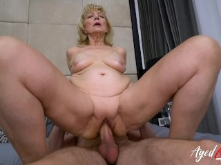 babička domáce porno