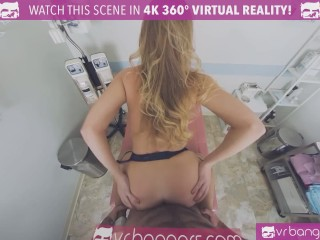 VRBangers Busty Nurse seducing you to fuck her at the sperm bank