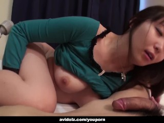 Haruka Osawa likes the way her lover is fingerfucking her