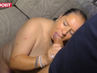 LETSDOEIT – Amateur German BBW Gets Fucked by Her Stepson