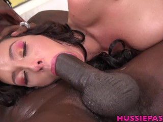New Girl Jackie Ohh Sucks And Fuck A Huge Black Cock