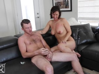 Hairy Otter Fucks Big Titty And Ass Young Milf