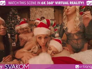 Vrbangerscom-christams Orgy With Abella Danger And Her 7 Sexy Elves Vr Porn