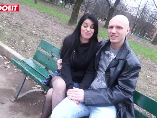 LETSDOEIT – Stunning Petite Italian Teen Wants To Be A Pornstar