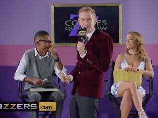 Brazzers – Danny D makes hot blonde Liza Del cuck her black bf