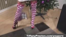 Santa's babe Tiffany...