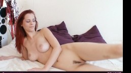 Busty piper fawn stretching...