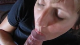 Dirty wife blowjob and...