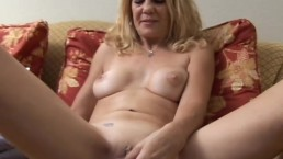 Mature babe has a...