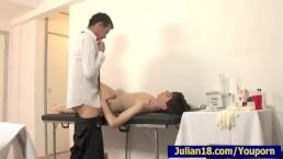 Doctor Testing Amazing Julian...