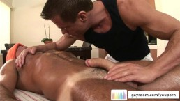 Older Massage Turns Kinky...