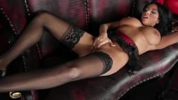 Stunning lingerie clad Anissa...
