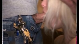 BlondeHexe - extremer Deepthroat Cumshot...