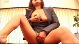 Sexy office lady Anna...