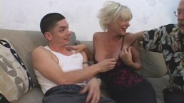 Older Mommy Seduces Young...
