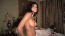 Girl with big tits...