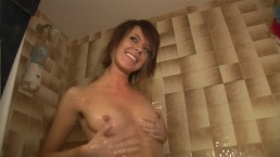 Teen Shows Her Breasts...