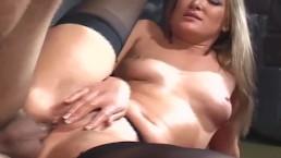 Sex in thigh high...