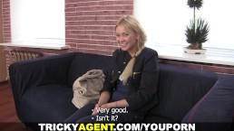 Tricky Agent - Modest blondy...