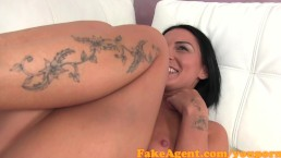 FakeAgent Anal Creampie for...