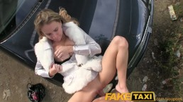 FakeTaxi Young Euro girl...