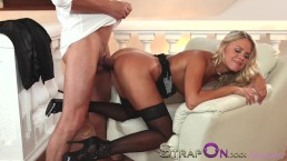 StrapOn Sensual double penetration...