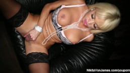 Busty Blonde Nikita Von...