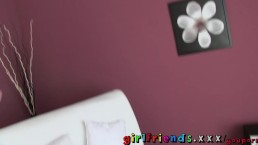 Girlfriends film themselves in...