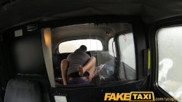 FakeTaxi Hairy brunette has...