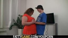 Skinny lad is seduced...