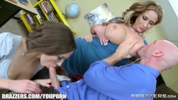 Brazzers - Step mom shows...
