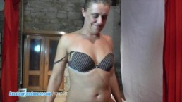 Czech wife does sensual...