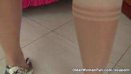 Grandma Emanuelle's pussy...