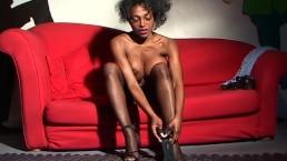 Sexy Black Girl Shows...