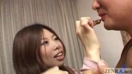 Dominant Japanese woman tease...