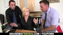 Granma sucks and fucks...