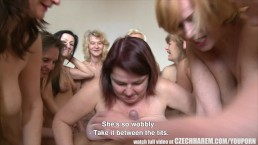 Amazing Mature Harem Orgy...
